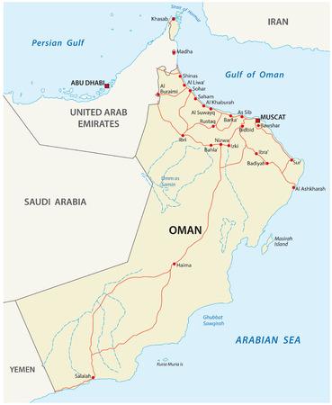 oman: Oman road map