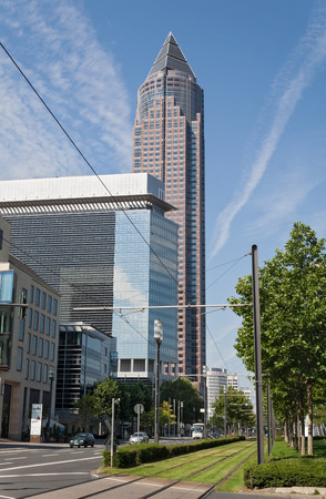 frankfurt: Messeturm Frankfurt