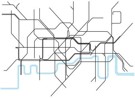 London subway map