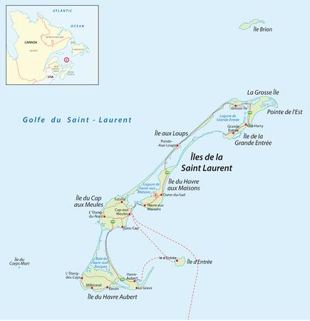 Magdalena-eilanden Kaart