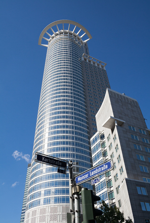 westend: Westend Tower, Frankfurt Germany