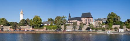 panorama: Main riverbank Frankfurt-Hoechst, Panorama