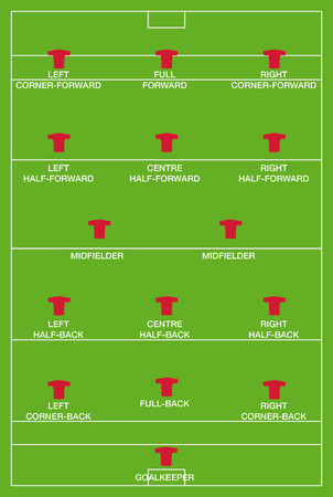 pitch: hurling pitch and positions