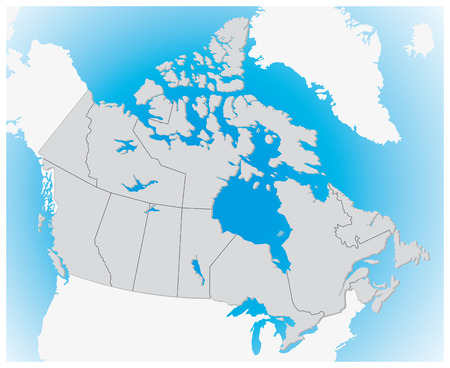 papery: Canada 3D map