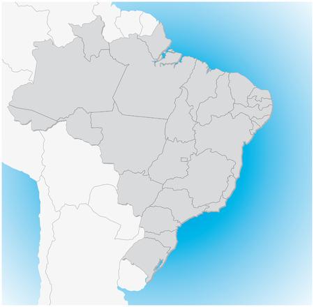 papery: Brazil 3D map
