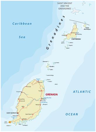 windward: Grenada road map