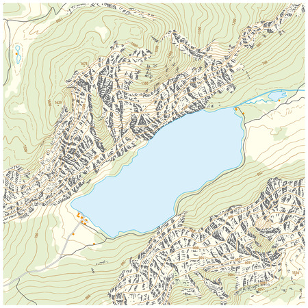 topographic map: Topographic map