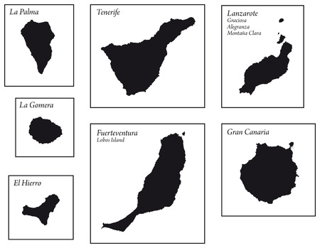 Canary Islands Maps