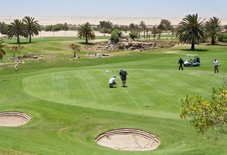 swakopmund: Desert Golf Course in Swakopmund, Namibia