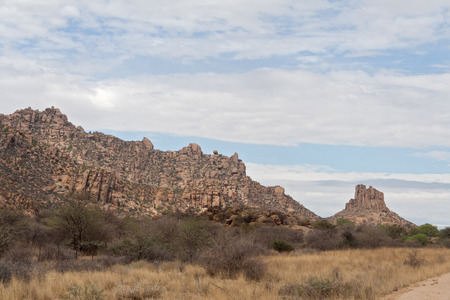 rock formation: rock formation in the Erongo Mountains, Namibia