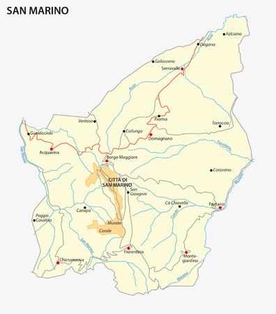 municipalities: San Marino road map
