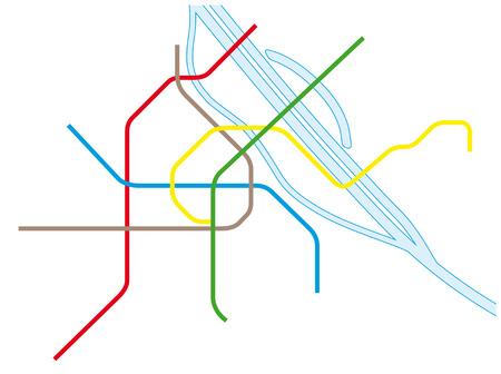 metro: Vienna Metro Map