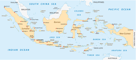 indonesia: Indonesia map