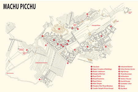 machu: Machu Picchu map