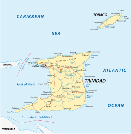 trinidad and tobago: trinidad and tobago road map