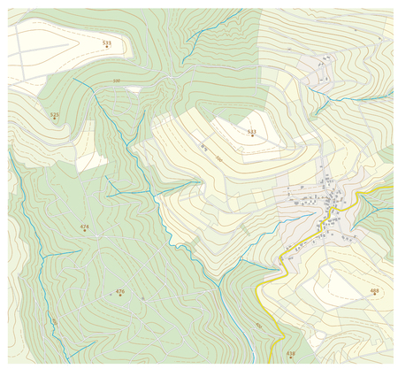 topographic: Topographic map