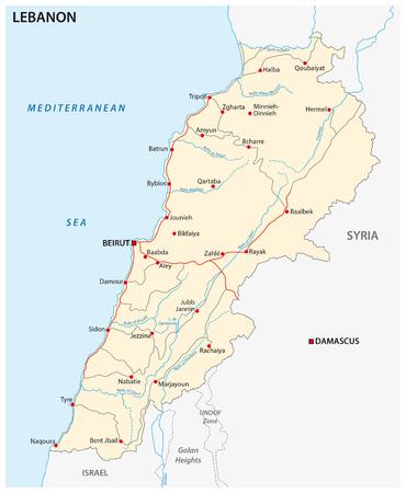 lebanon: lebanon road map