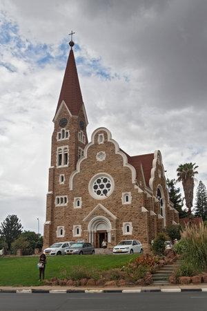 lutheran: Lutheran christuskirche in the Namibian capital Windhoek