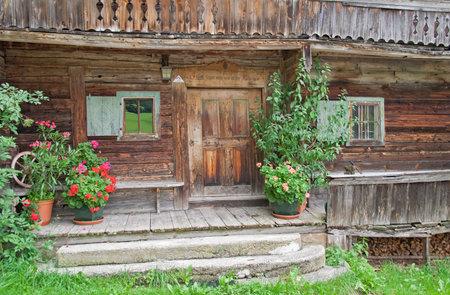 tirol: old farm house in the region wilder Kaiser, Tirol, Austria