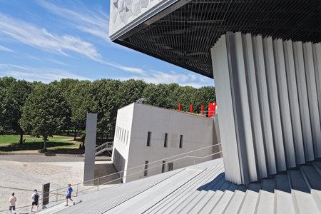 musique: Philharmonie de Paris in Parc de la Villette