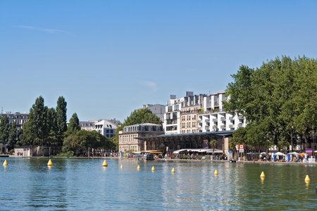 rotunda: Bassin de la Villette in the 19th arrondissement of Paris