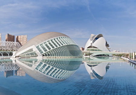 arts: City of the Arts and Sciences in Valencia, Spain