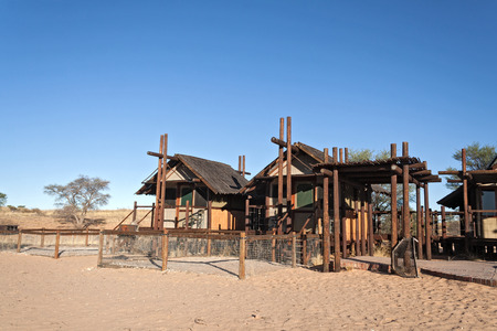 kgalagadi: Bitterpan Wilderness Camp in the Kgalagadi Transfrontier Park near Nossob, South Africa