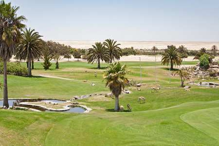 Private Rossmund Desert Golf Course Swakopmund, Namibia