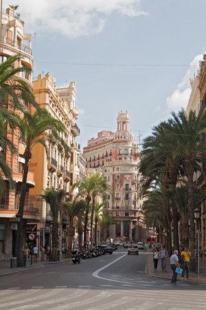 valencia: Headquarter of the Bank of Valencia, historic city of Valencia
