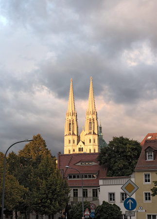 St. Peter and Paul church in Goerlitz, Germany Editorial
