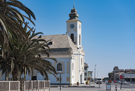 german evangelical lutheran church, swakopmund, namibia.