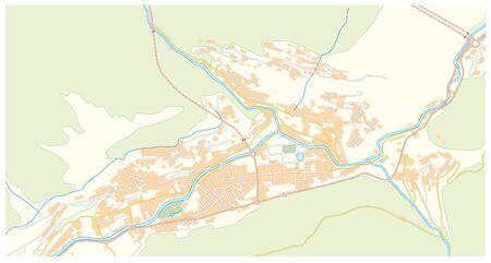 street map of the capital of andorra Andorra la Vella