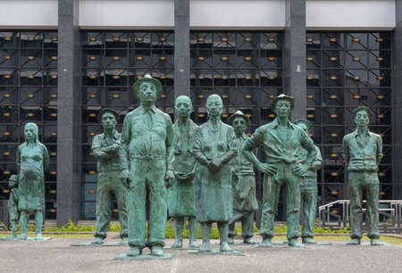 Monument of the Costa Rican Workers in San Jose Costa Rica