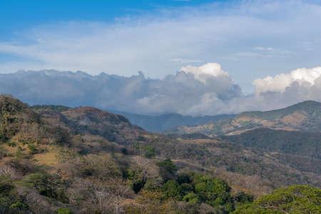 landscape view in Monteverde reserve cloud forest, Costa Rica Foto de archivo