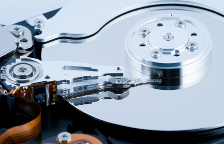 Hard disk drive HDD photo