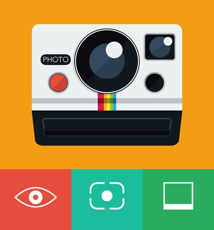 handheld device: instant camera