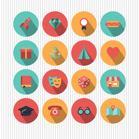 orden: vector set of universal icons
