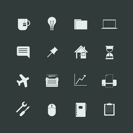 universal icons: vector set of universal icons