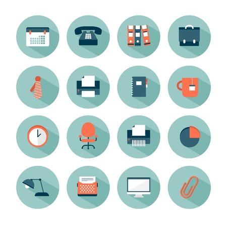 shredder: set of modern vector office icons Illustration