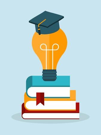 knowledge concept: vector knowledge concept illustration