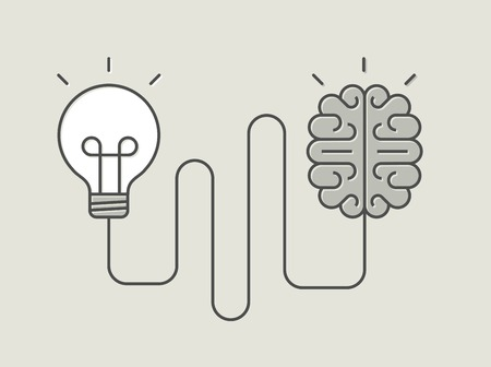 concept banner of creative thinking