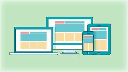 concept of responsive web design