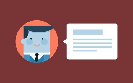 komentář: Uživatel opouštět komentář, nebo posudek, ilustrace