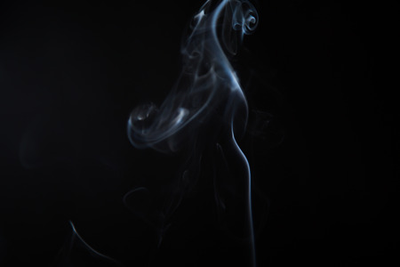 mythical: Mythical creature from smoke.