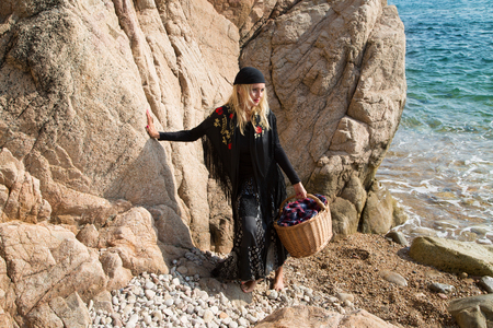 gitana: Bella gitana de Andalucía Foto de archivo