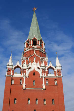 A photo of Kremlin tower in Moscow