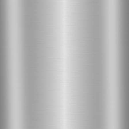 silvery: Brushed silver metal background