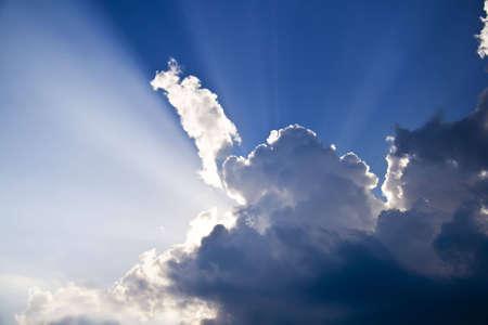 Holy light Stock Photo