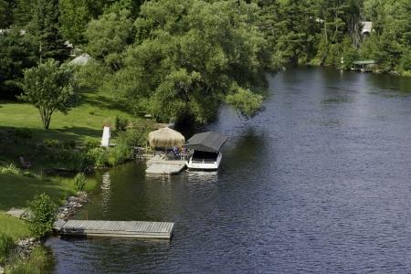 muskoka: Muskoka River in summer