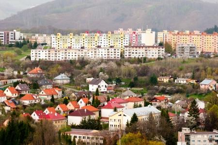 B�timents neufs et anciens - Banska Stiavnica, Slovaquie